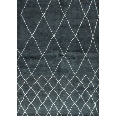 Bridgewater Hand-Knotted Turquoise Area Rug
