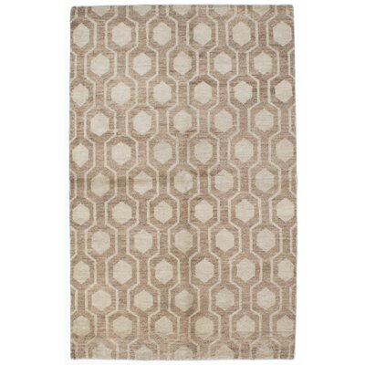 Brewster Hand-Knotted Gray Area Rug