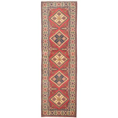 One-of-a-Kind Kargahi Hand-Knotted Red / Yellow Area Rug