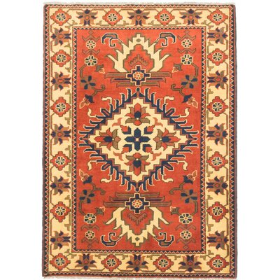 Kargahi Hand-Knotted Brown/Yellow Area Rug