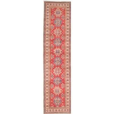 Gazni Hand-Knotted Brown/Red Area Rug
