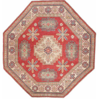 One-of-a-Kind Gazni Hand-Knotted Red Area Rug