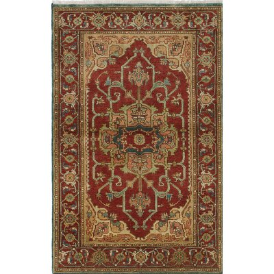 One-of-a-Kind Serapi Heritage Hand-Knotted Brown/Yellow Area Rug
