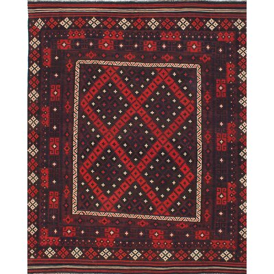 Bruntons Flat-woven Red Area Rug
