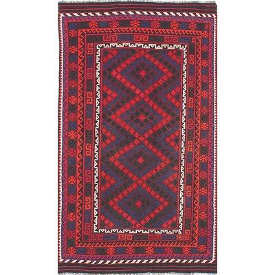 Bruntons Flat-woven Red Area Rug