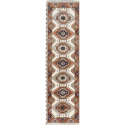 One-of-a-Kind Berkshire Hand-Knotted Brown/Beige Area Rug