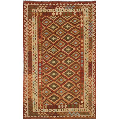 One-of-a-Kind Anatolian Handmade Wool Brown Area Rug