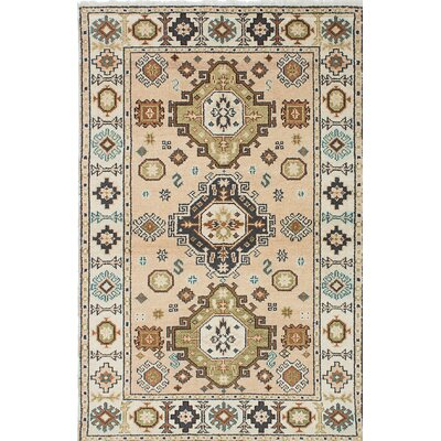 Berkshire Hand-Knotted Beige Area Rug