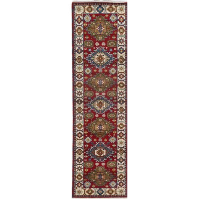 Berkshire Hand-Knotted Red Area Rug