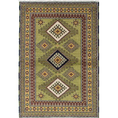 Berkshire Hand-Knotted Green Area Rug