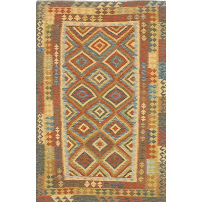 Anatolian Flat Woven Blue/Brown Area Rug