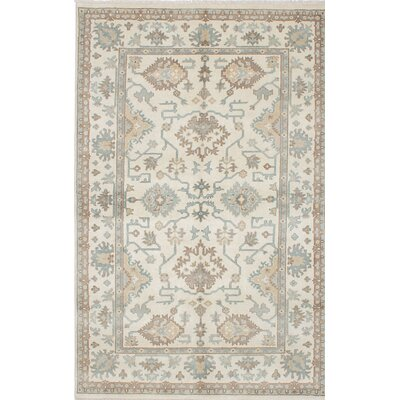 Royal Ushak Hand-Knotted Gray Area Rug