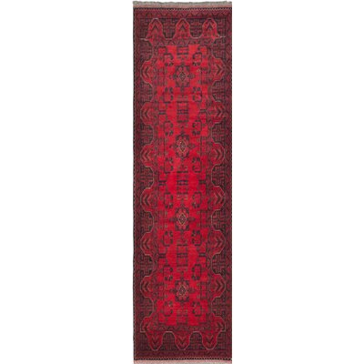One-of-a-Kind Khal Mohammadi Hand-Knotted Red Area Rug