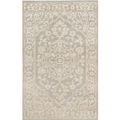 One-of-a-Kind Jules Ushak Hand-Knotted Beige/Gray Area Rug
