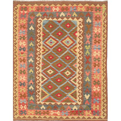 Olmsted Flat Woven Yellow Area Rug