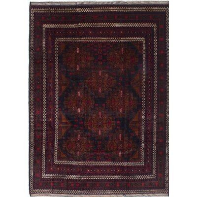 One-of-a-Kind Rizbaft Hand-Knotted Blue / Red Area Rug