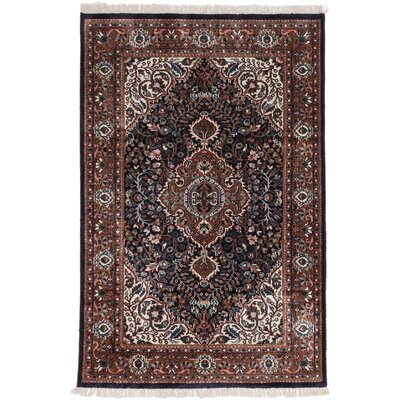 One-of-a-Kind Orangetree Hand-Knotted Rectangle Brown Area Rug
