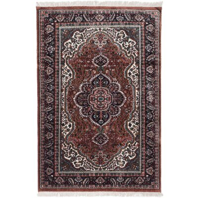 Orangetree Hand-Knotted Brown/Blue Area Rug