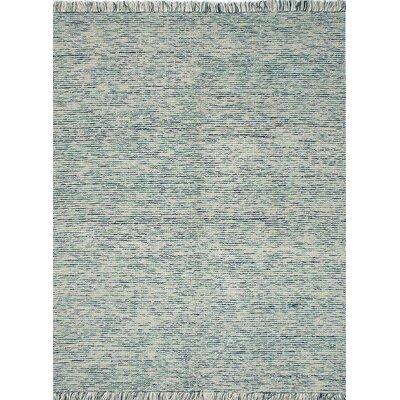 Manhattan Flat-Woven Beige/Blue  Area Rug