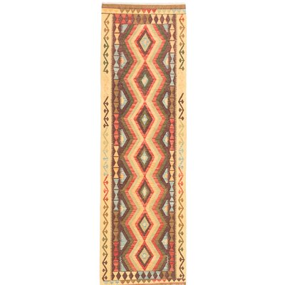 One-of-a-Kind Kashkoli Handmade Brown/Beige Area Rug