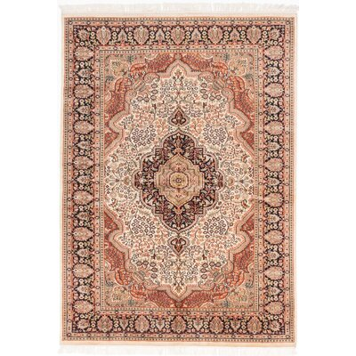 One-of-a-Kind Orangetree Hand-Knotted Brown Area Rug