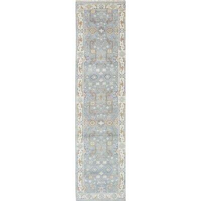 Royal Ushak Handmade Gray / Ivory Area Rug