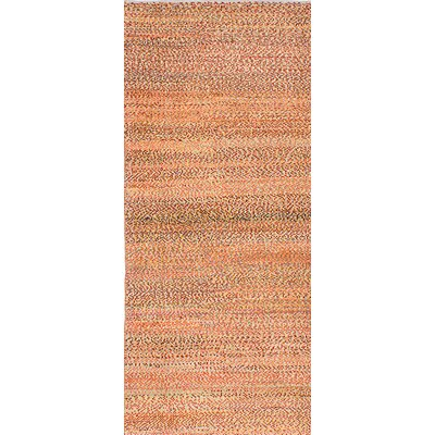 Persian Gabbeh Handmade Orange / Red Area Rug