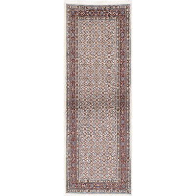 One-of-a-Kind Mood Birjand Hand-Knotted Red/Beige Area Rug