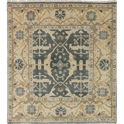 Royal Ushak Handmade Gray / Yellow Area Rug