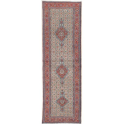 Mood Birjand Hand-Knotted Blue/Red Area Rug