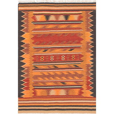 Izmir Handmade Red/Orange Area Rug