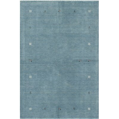 Campos Hand-Knotted Blue Area Rug