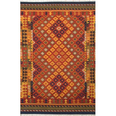 Kashkoli Handmade Red/Orange Area Rug