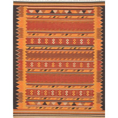 Izmir Handmade Orange/Red Area Rug