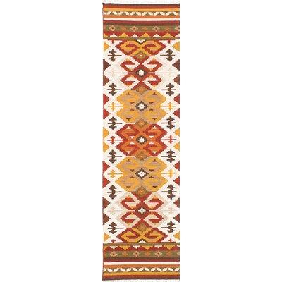 Izmir Handmade Beige/Yellow Area Rug
