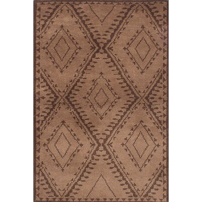 Bridgewater Hand-Knotted Brown Area Rug
