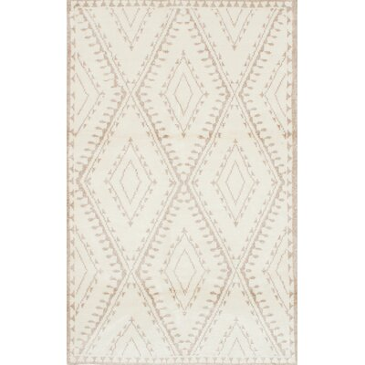 Bridgewater Hand-Knotted Beige Area Rug