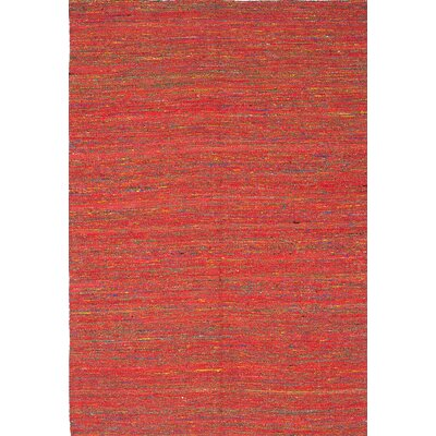 Sari Handmade Red Area Rug