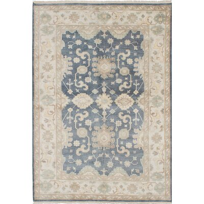 One-of-a-Kind Li Hand-Knotted Beige/Gray Area Rug