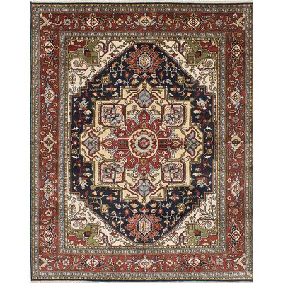 One-of-a-Kind Serapi Heritage Hand-Knotted Red/Brown Area Rug