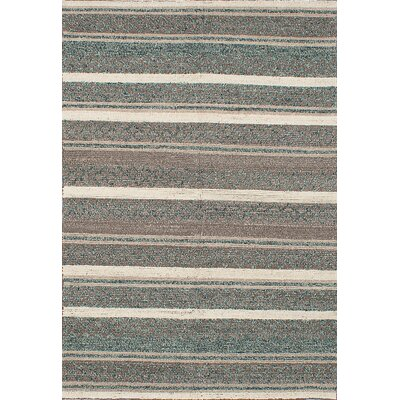 Manhattan Hand-Hooked Brown/Cream Area Rug