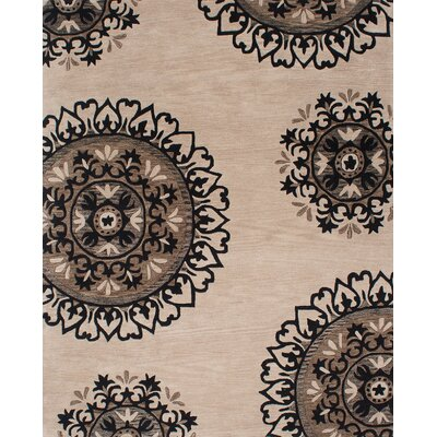 Moreau Hand-Tufted Cream Area Rug