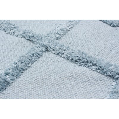 Bonefield Wool Light Blue Area Rug Rug Size: Rectangle 9 x 12