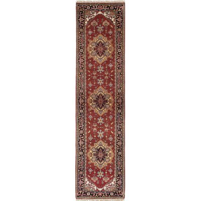 Serapi Heritage Hand-Knotted Purple/Red Area Rug