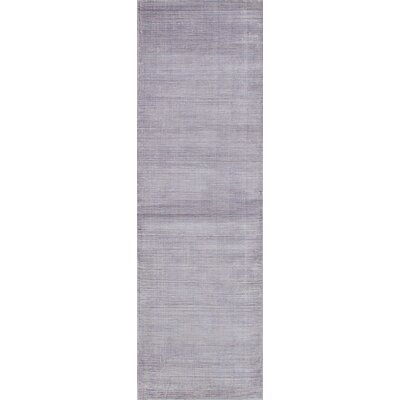 Don Hand-Knotted Purple Area Rug