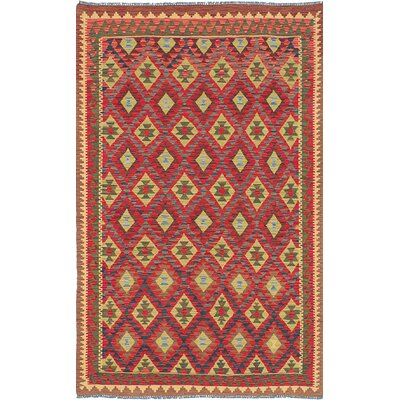Braintree Handmade Red Area Rug