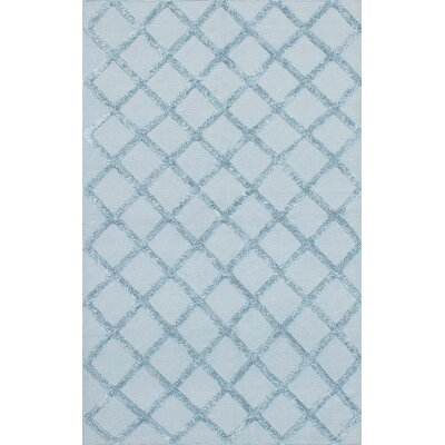 Bonefield Blue Area Rug Rug Size: 9 x 12
