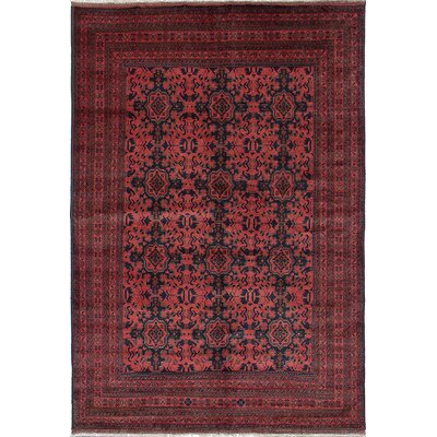 One-of-a-Kind Rosales Rectangle Hand-Woven Dark Copper Area Rug