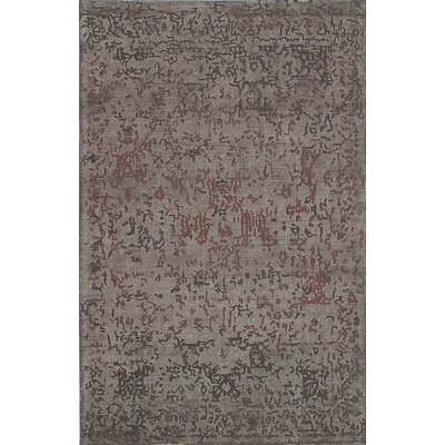 One-of-a-Kind Elina Handmade Wool Gray Area Rug