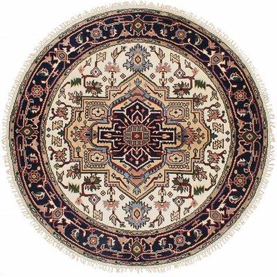 Serapi Heritage Hand-Woven Cream Area Rug